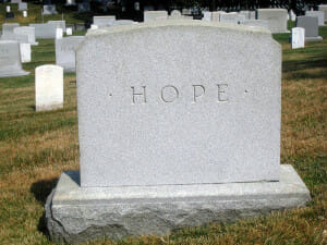 Tombstone of Hope